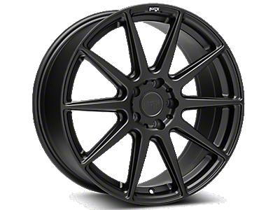 Matte Black Niche Essen Wheels<br />('10-'14 Mustang)