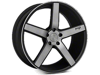 Matte Black Niche Milan Wheels<br />('10-'14 Mustang)