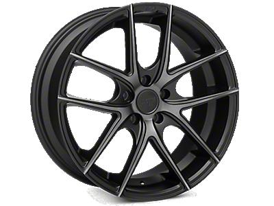 Matte Black Niche Targa Wheels<br />('05-'09 Mustang)