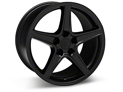 Matte Black Saleen Style Wheels<br />('05-'09 Mustang)