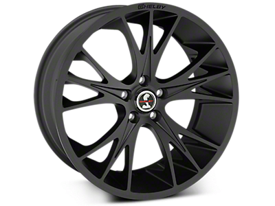 Matte Black Shelby CS1 Wheels<br />('05-'09 Mustang)