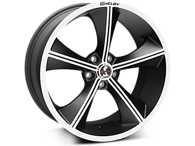 Matte Black Shelby CS70 Wheel<br />('10-'14 Mustang)