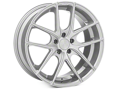 Matte Silver Niche Targa Wheels<br />('10-'14 Mustang)