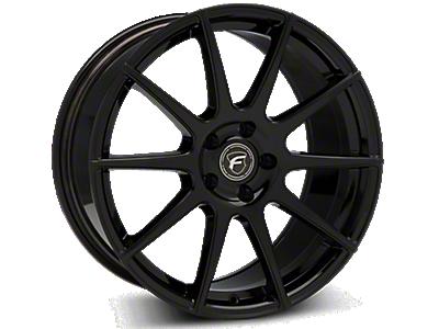Piano Black Forgestar CF10 Wheels<br />('10-'14 Mustang)