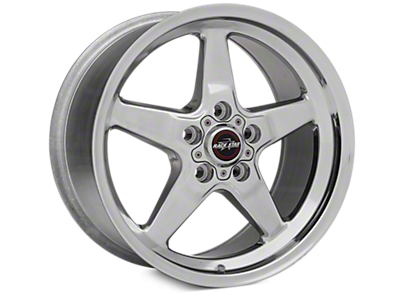 Polished Race Star Wheels<br />('15-'18 Mustang)