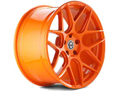 Race Orange HRE Flowform FF01 Wheels<br />('10-'14 Mustang)