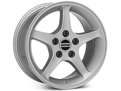 Silver 1995 Cobra R Wheels<br />('79-'93 Mustang)