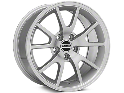 Silver FR500 Wheels<br />('99-'04 Mustang)