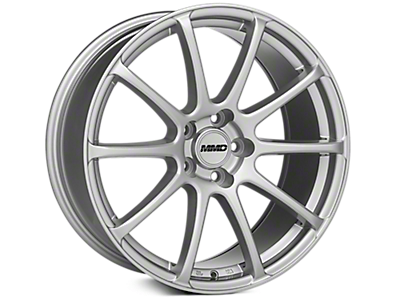 Silver MMD Axim Wheels<br />('10-'14 Mustang)