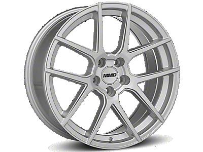 Silver MMD Zeven Wheels<br />('15-'17 Mustang)