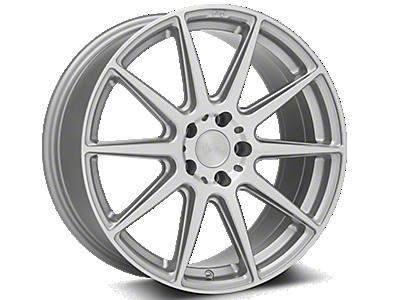 Silver Niche Essen Wheels<br />('10-'14 Mustang)