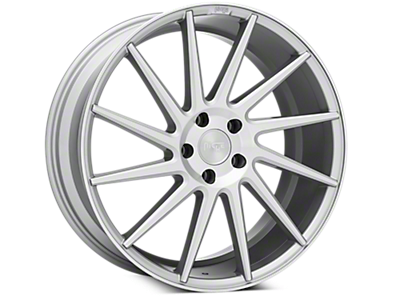 Silver Niche Surge Wheels<br />('15-'19 Mustang)