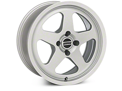Silver SC Style Wheels<br />('79-'93 Mustang)