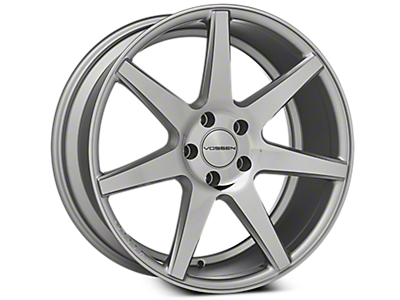 Silver Vossen CV7 Wheels<br />('15-'19 Mustang)