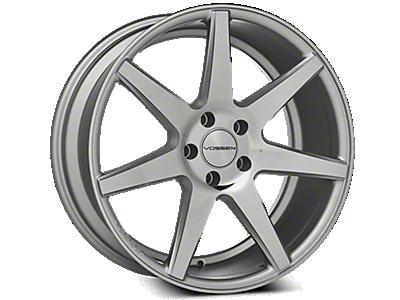 Silver Vossen CV7 Wheels<br />('15-'18 Mustang)