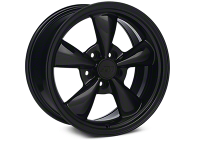 Solid Black Bullitt Wheels<br />('05-'09 Mustang)