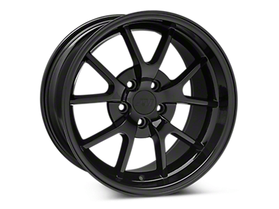 Solid Black FR500 Wheels<br />('94-'98 Mustang)