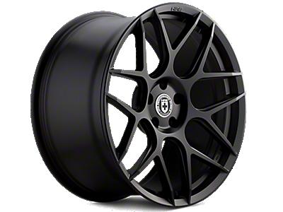 Tarmac Black HRE Flowform FF01 Wheels<br />('10-'14 Mustang)