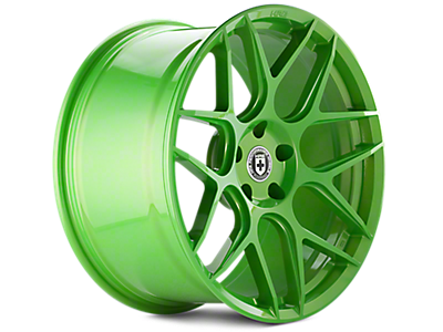 Tequila Lime HRE Flowform FF01 Wheels<br />('05-'09 Mustang)