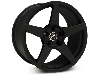 Textured Black Forgestar CF5 Wheels<br />('99-'04 Mustang)