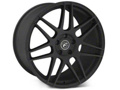 Textured Black Forgestar F14 Wheels<br />('15-'19 Mustang)