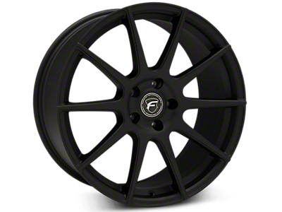 Textured Matte Black Forgestar CF10 Wheels<br />('15-'19 Mustang)