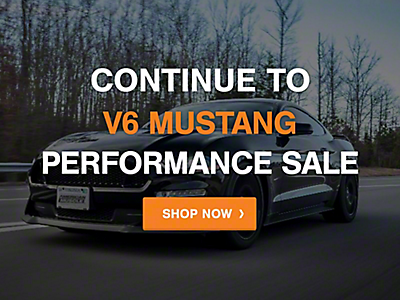 Mustang 2005-2009 Cyber Monday: Performance V6