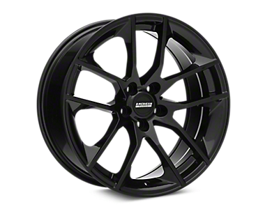 Black Magnetic Style Wheels<br />('15-'19 Mustang)