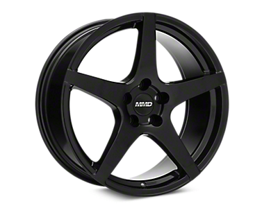 Black MMD Sinn Wheels<br />('15-'18 Mustang)