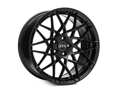 Black RTR Tech Mesh Wheels<br />('10-'14 Mustang)