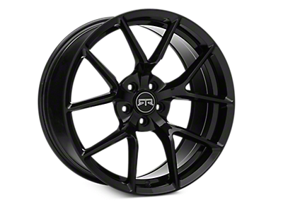 Black RTR Tech 5 Wheels<br />('10-'14 Mustang)