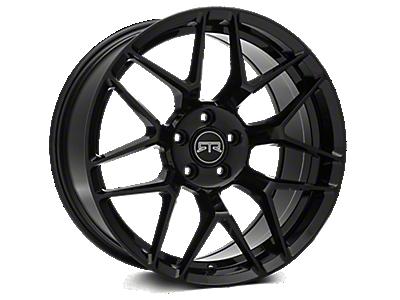 Black RTR Tech 7 Wheels<br />('10-'14 Mustang)