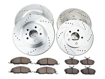 Mustang Brake Rotor & Pad Kits 2015-2019
