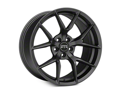 Charcoal RTR Tech 5 Wheels<br />('10-'14 Mustang)