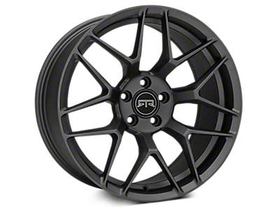 Charcoal RTR Tech 7 Wheels<br />('10-'14 Mustang)
