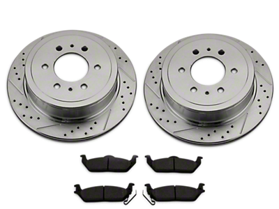Tacoma Brake Rotor & Pad Kits 2016-2019