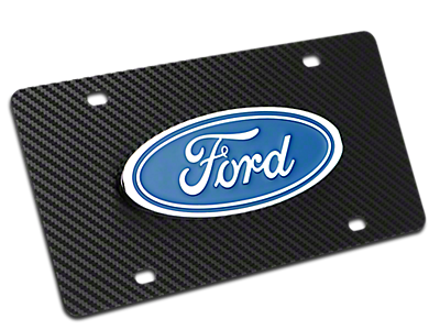 License Plates & License Plate Frames<br />('15-'18 F-150)