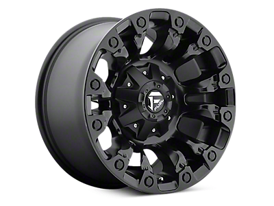 Matte Black Vapor Fuel Wheels<br />('15-'18 F-150)