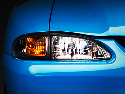 Mustang Clear Headlights