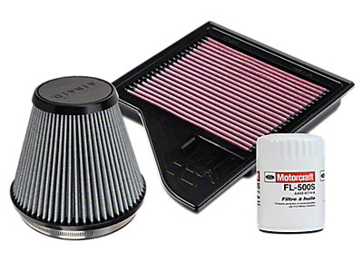 Air, Oil and Fuel Filters<br />('10-'14 Mustang)