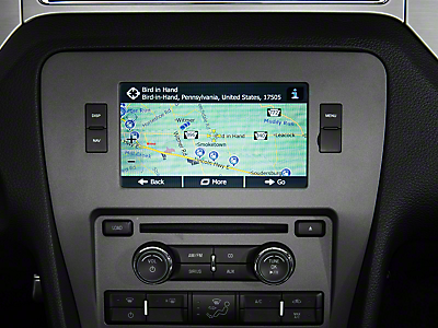 Mustang Navigation Systems 2010-2014