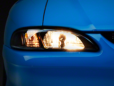 Mustang One Piece Headlights