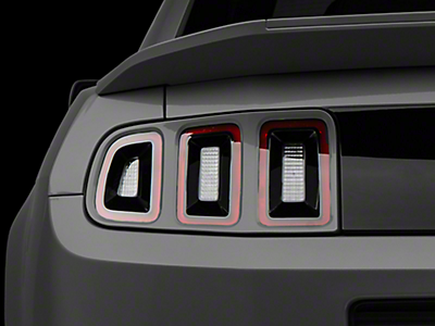 Tail Light Trim & Bezels<br />('10-'14 Mustang)