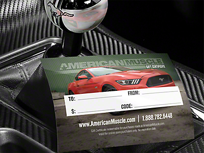 Mustang Gift Cards 2005-2009