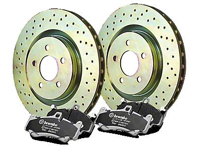 Brake Rotor & Pad Kits 2002-2008
