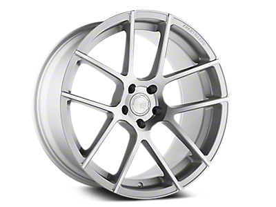 Satin Silver M510 Avant Garde Wheels<br />('10-'14 Mustang)