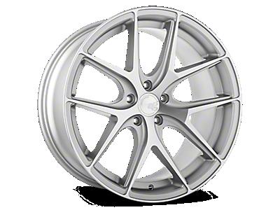 Satin Silver M580 Avant Garde Wheels<br />('10-'14 Mustang)