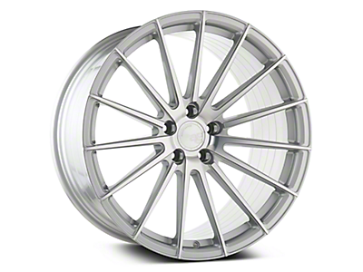 Silver Machined M615 Avant Garde Wheels<br />('05-'09 Mustang)