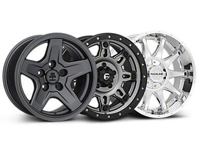 All Jeep Wrangler Wheels