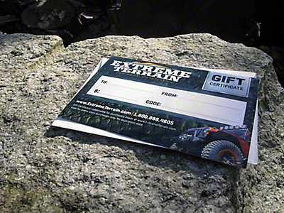 Jeep Gift Cards 1997-2006 TJ